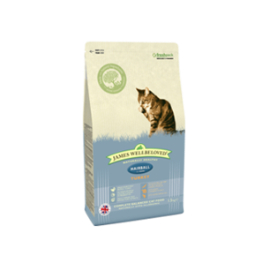 Hairball Turkey & Rice 300g, 1.5kg & 4kg From