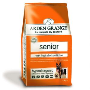 Arden Grange - Senior 2kg, 6kg & 12kg From