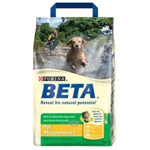 Beta Pet Maintenance 2.5kg & 14kg From