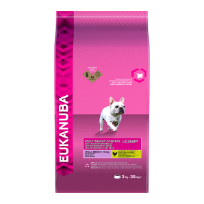 Eukanuba Weight Control Small Breed 3kg
