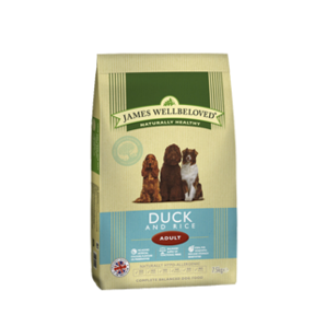 Adult - Duck & Rice 2kg, 7.5kg & 15kg From