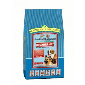 Adult - Fish & Rice Large Kibble 4kg & 15kg From