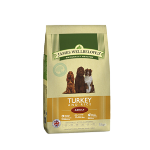 Adult - Turkey & Rice 2kg, 7.5kg & 15kg From