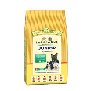 Junior  - Lamb and Rice 2kg, 7.5kg & 15kg From