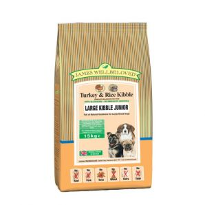 Junior  - Turkey and Rice 2kg, 7,5kg & 15kg From