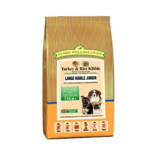 Junior - Turkey and Rice Large Breed 4kg & 15kg from