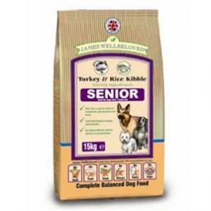 Senior - Turkey and Rice 2kg, 7.5kg & 15kg From