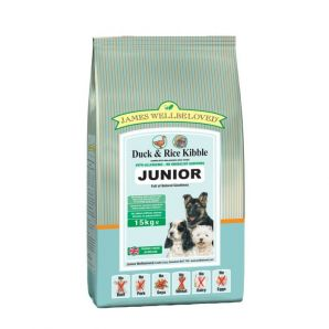 Junior  - Duck and Rice 2kg, 7.5kg & 15kg From