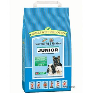 Junior  - Ocean White Fish and Rice 2kg, 7,5kg &15kg From