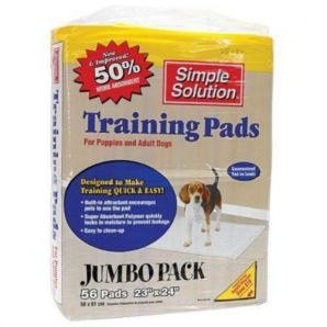 Simple Solution Puppy Pads - Training Aid