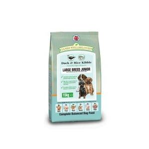 Junior - Duck & Rice Large Breed 4kg & 15kg From